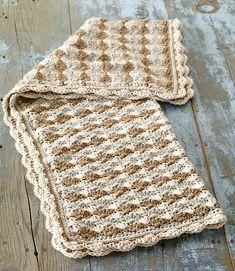 Ravelry: Crochet Shell Stitch Baby Blanket pattern by Lion Brand Yarn