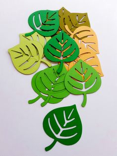 Best 10 Leaf/Leaves Die Cut Outs ( Jungle Themed Decor, Scrap Booking, Party Decoration, Garlands ) Fall Crafts, Diy And Crafts, Crafts For Kids, Paper Crafts, Die Cutting, Paper Cutting, Diy Tank, Diy Shirt, Leaf Clipart