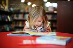Lila - At the Library (My mom use to take us to the library all the time when we were kids).