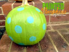 painted pumpkin fun