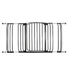 Dreambaby Pressure Mount Hallway Gate with Extensions, Black $71.54