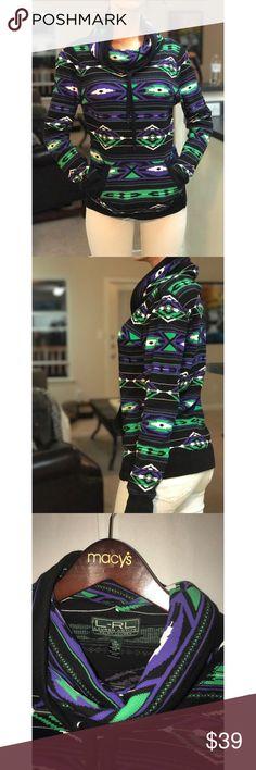 Lauren Ralph Lauren pullover Adorable Aztec Lauren Ralph Lauren pullover! Lauren Ralph Lauren Tops Sweatshirts & Hoodies