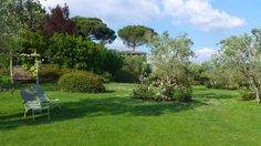 Dans les jardins de Villa le Barone
