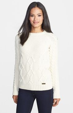 Barbour 'Ursula' Mix Stitch Sweater | Nordstrom