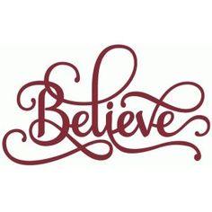 Silhouette Design Store - View Design #51490: believe phrase - perfect flourish - mens button down casual shirts, custom design shirts, black shirt mens *ad
