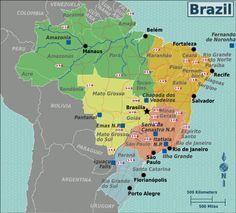 Brazil's UNESCO World Heritage Sites