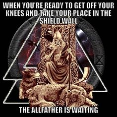Odin, Norse god of thunder and war, the ruler of Asgard Norse Pagan, Norse Symbols, Old Norse, Norse Mythology, Mayan Symbols, Egyptian Symbols, Ancient Symbols, Viking Life, Viking Warrior