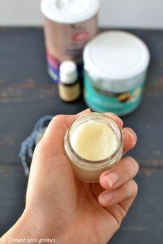 Déodorant naturel à l'huile de coco et bicarbonate de soude