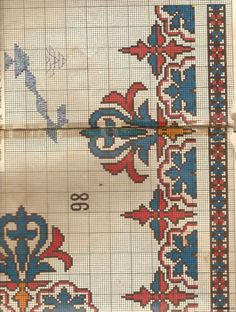 Greek Embroidery - It Was A Work of Craft Creative Embroidery, Folk Embroidery, Modern Embroidery, Cross Stitch Embroidery, Embroidery Patterns, Weaving Patterns, Cross Stitch Patterns, Knitting Patterns, Cross Stitch Flowers