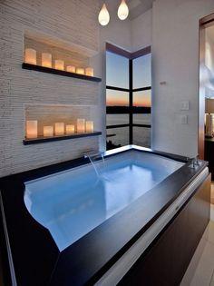 florida luxury homes master bath 15 best decoration ideas - Florida luxury waterfront condo - Bathroom Ideas Luxury Penthouse, Luxury Condo, Luxury Spa, Luxury Homes, Luxury Loft, Condo Bathroom, Bathroom Layout, Modern Bathroom, Bathroom Ideas