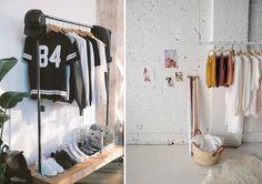 clothing rack tumblr - Google Search