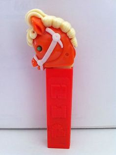 Vintage Pez Dispenser - the ones with no feet like I had when I was a kid.