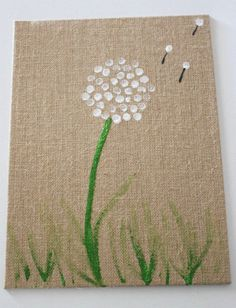 Aww, this Dandelion Fingerprint flower craft at Mom It Forward is a perfect gift or keepsake for mom.