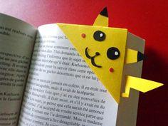 Marque pages Pikachu : Marque-pages par machin-fio