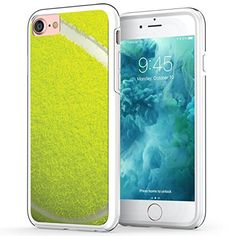 iPhone 7 Sports Case, True Color Tennis Ball Sports Collection Slim Hybrid Hard Back   Soft TPU Bumper Protective Durable Cover [True Impact Series] ** See this great product.
