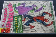The Amazing Spider-Man 6 Marvel Comic Book1963 by pasttimejewelry