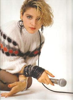 Madonna, 1983, by Richard Corman in NYC