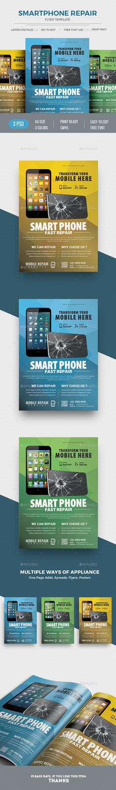 Computer Repair Flyer Template | Computer Repair, Pc Repair And Tech