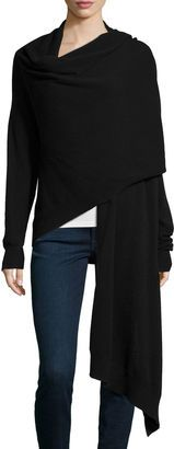 Neiman Marcus Cashmere Collection Long-Sleeve Cashmere Blanket Cardigan - Shop for women's Cardigan