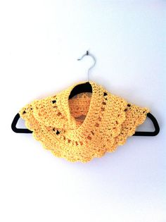 Sunshine Yellow Collar by BrisCraftyShop on Etsy, $14.00