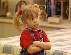 Ashley Olsen as Michelle Tanner Full House Memes, Full House Funny, Meme Faces, Funny Faces, Full House Michelle, Michelle Tanner, Angry Girl, Cute Bunny Cartoon, Fuller House