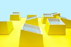 Temptations, images from a collection of minimalist urban architecture photography by Nick Frank and Jeanette Hägglund. Colour Architecture, Minimalist Architecture, Urban Architecture, House Architecture, Architecture Images, Minimal Photography, Urban Photography, Interior Work, Interior Design