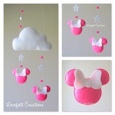 Bébé mobile  Cloud mobile  mobile Minnie  par GiseleBlakerDesigns