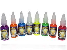 Immortal Tattoo Ink 8 PACK NEON SET 1oz Bottles Tattoo Supplies * Continue to the product at the image link. Note:It is Affiliate Link to Amazon.