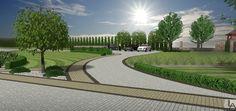 Projekt Ogrodu rezydencjonalnego- parking