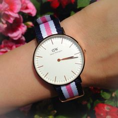 Flower colors. Use SCHELAZZI for 15% off all products at www.danielwellington.com until 31st of may  @danielwellington  #danielwellington
