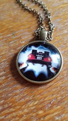 OutaTime Necklace by AwesomeOddities on Etsy