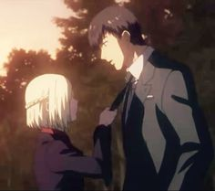 Amon and Akira :333 love them (Tokyo Ghoul)