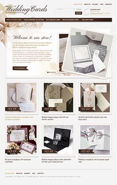 Wedding inspirations at the Coffee Break? Browse for more Wedding and VirtueMart templates! // Regular price: $140 // Unique price: $2500 // Sources available: .HTML, .PSD, .PHP, .XML, .CSS, .JS // #Wedding #VirtueMart #templates