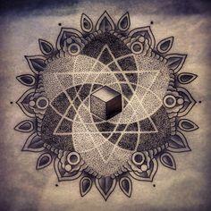 New Mandala Michael E. Bennett 2Spirit Tattoo San Francisco, CA