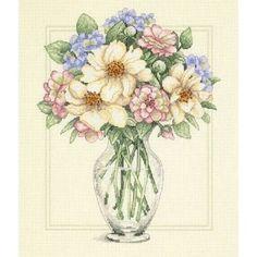 """Гоблен Дименшънс """"Цветя във висока ваза"""" - Кадифе Крафт"""