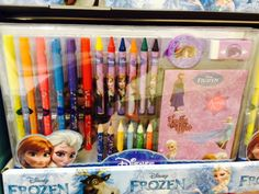 The Card Shop - Frozen Pens, crayons and stickers Cork City, Gifts Under 10, Crayons, Kids Gifts, Pens, Frozen, Stickers, Children, Cards