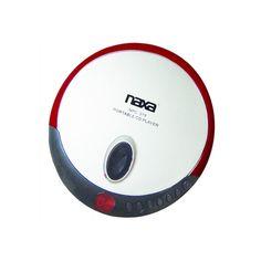 Naxa Slim Personal Compact Disc Player-Red #NPC-319-RED