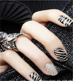 Rhinestone Polish Water Transfer Nail Art Decal Wraps Stickers Manicure  Decor in Health   Beauty 6bc527d69ee7