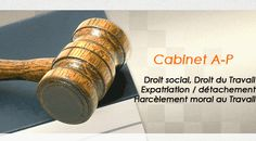 Avocat Licenciement/ Avocat Drot Social /Avocat  Droit du Travail / Avocat Prud'hommes / Paris