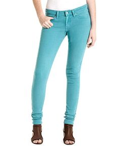 Levi's 535 Skinny Leg Jeans, Colored Wash - Juniors Color Denim - Macy's