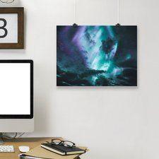 'Aurora Borealis' Graphic Art Print