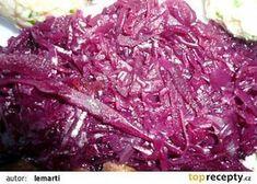 Bavorské červené zelí od Lemarti recept - TopRecepty.cz Cabbage, Cooking Recipes, Treats, Vegetables, Soups, Minerals, Gemstones, Recipes, Sweet Like Candy