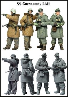 [DIWEINI] 1 35 scale resin model figures kit German E43