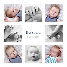 faire part naissance Simple 8 photos by ÉLÉPHANT (rose) pour www.fairepartnaissance.fr #birth #announcement #rosemood