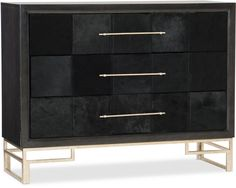 Hooker Furniture Hair on Hide Accent Chest 500-50-948-DKW