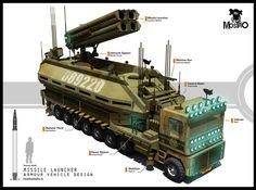 Missile Launcher Unit by alanquiroz on DeviantArt