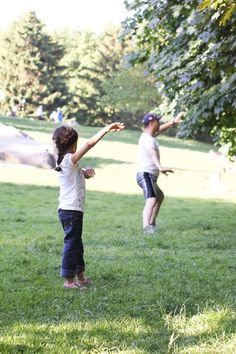 """This little girl was bringing a lot of joy to the people around her by mimicking every movement of a man doing tai chi. I asked her parents if she knew the man. """"Not at all,"""" answered her father, """"she's been doing this kind of stuff since she was born."""""""
