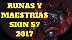 runas y maestrias sion s7 2017