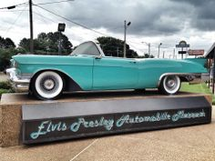Elvis loved cars and the Elvis Presley Car Museum displays some of his favorites. Stroll down a tree-lined street see over 33 vehicles owned by Elvis.