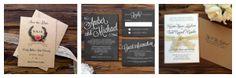 New Rustic Wedding Invitation Trends - Rustic Wedding Chic